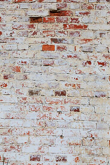 White brick wall by Kristian Tuhkanen