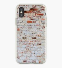 White brick wall iPhone Case