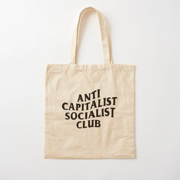 Anti Capitalist Socialist Club - The Peach Fuzz Cotton Tote Bag