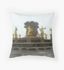 Friendship of the Peoples Fountain Throw Pillow