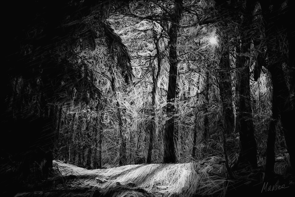 Mystic forest by Marsea
