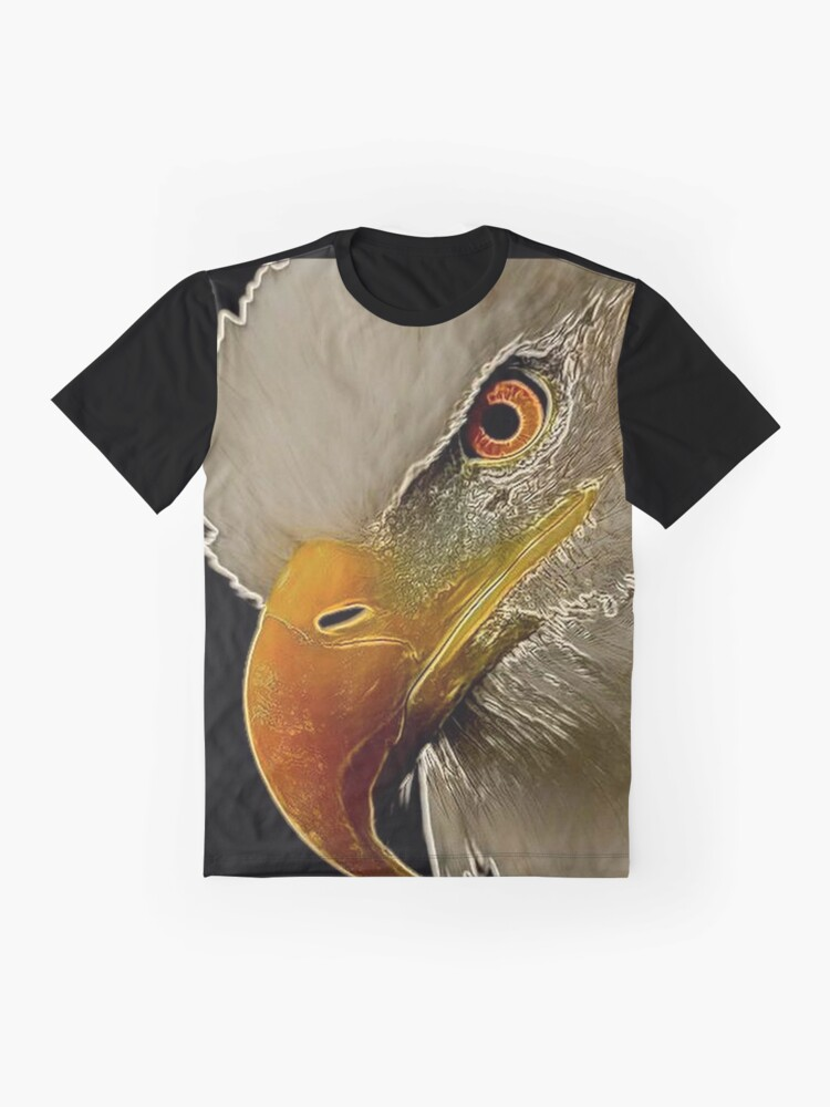 Alternate view of Bald Eagle  Graphic T-Shirt