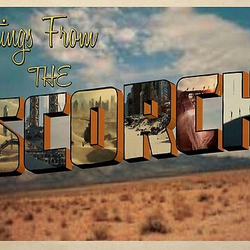 Scorch Trials Postcard  by peoplelikegrace