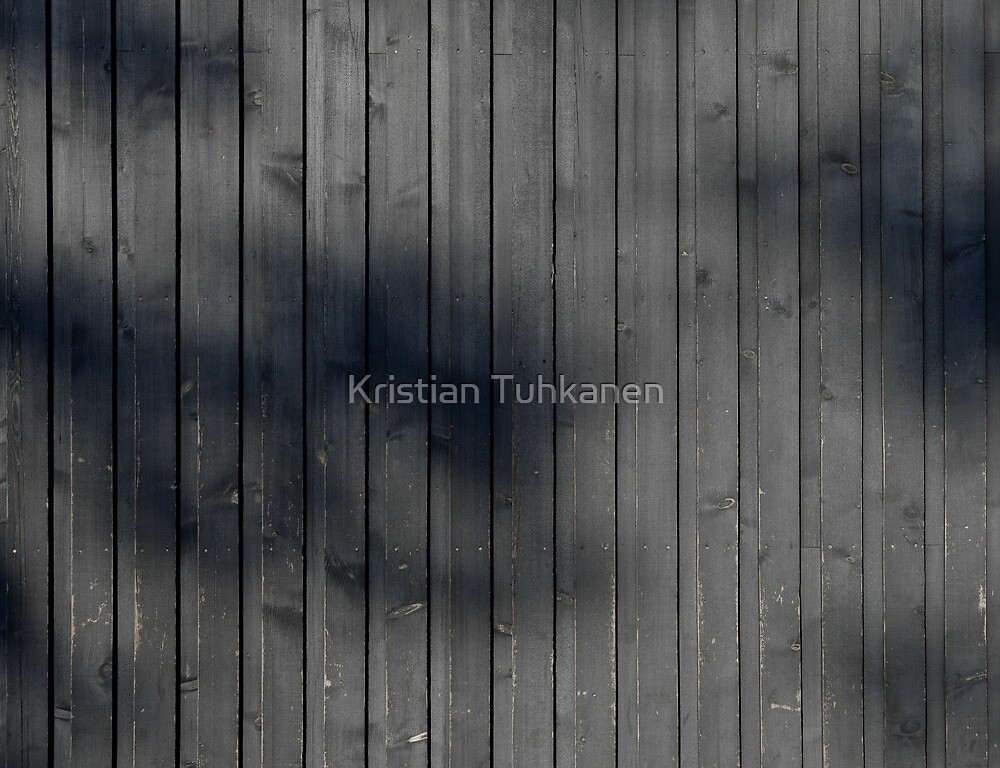 Black plank wall by Kristian Tuhkanen