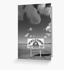 Route 66 - Midpoint Sign Greeting Card