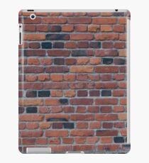 Old red brick wall iPad Case/Skin