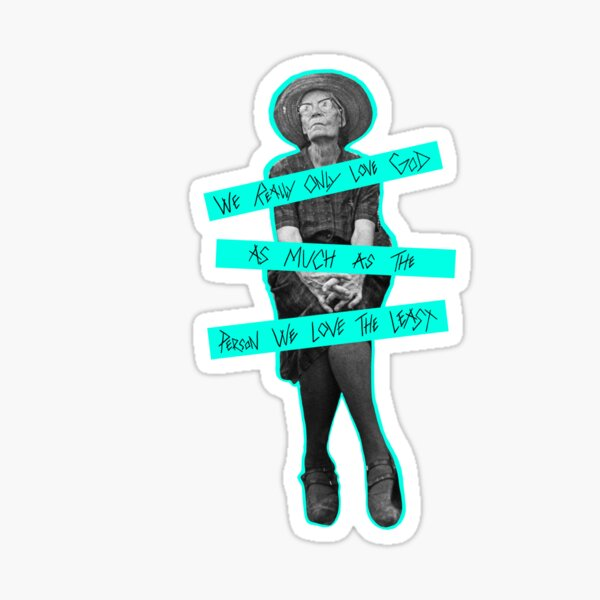 St. Dorothy Day Sticker