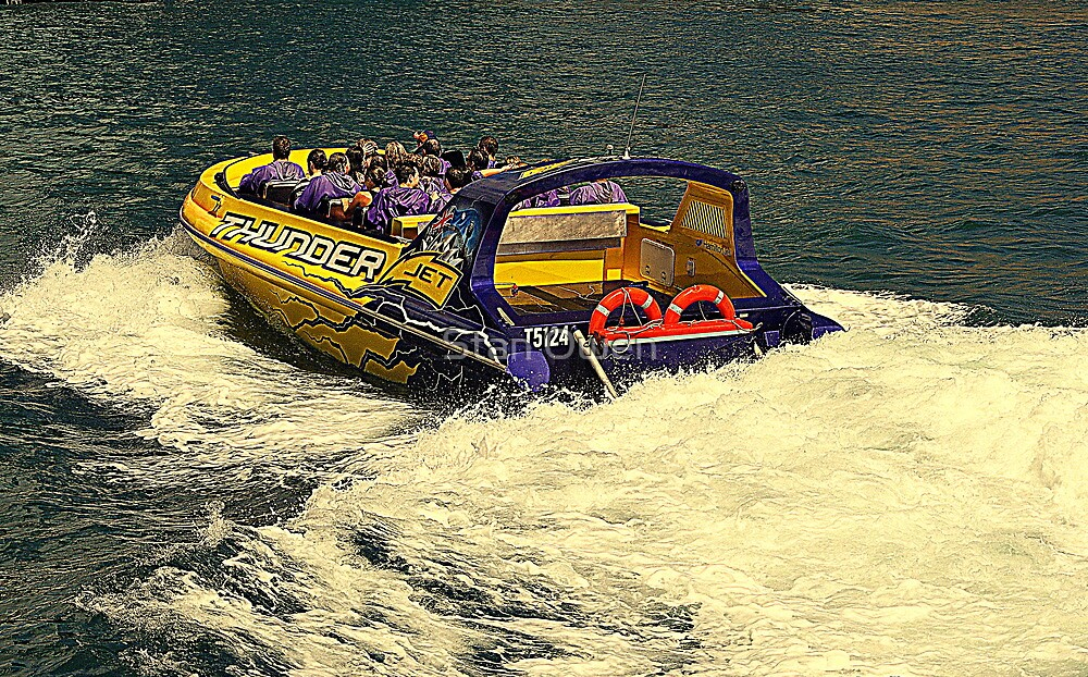 Thunder Jet Boat by Stan Owen