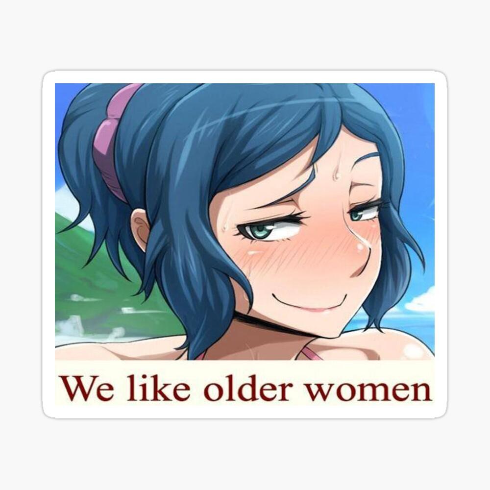 New porn anime milf lady