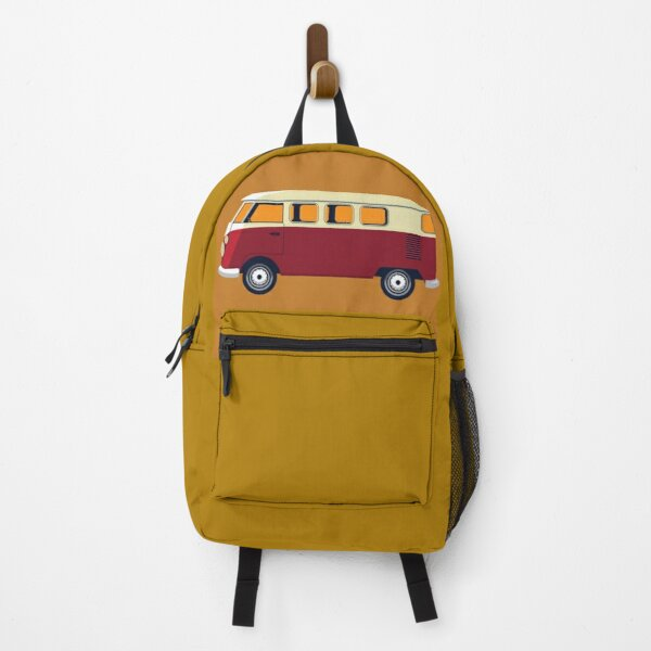 VW Bulli T-1 print design. Backpack