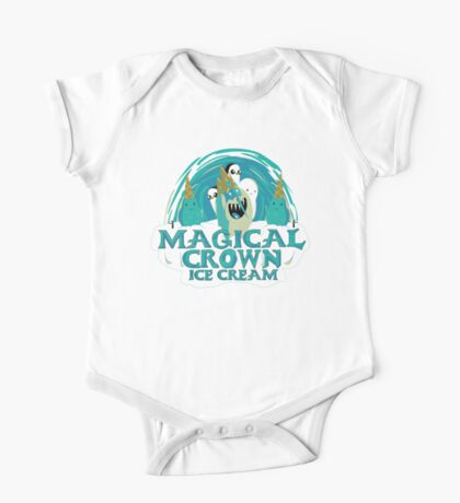 magical crown ice cream Kids Clothes