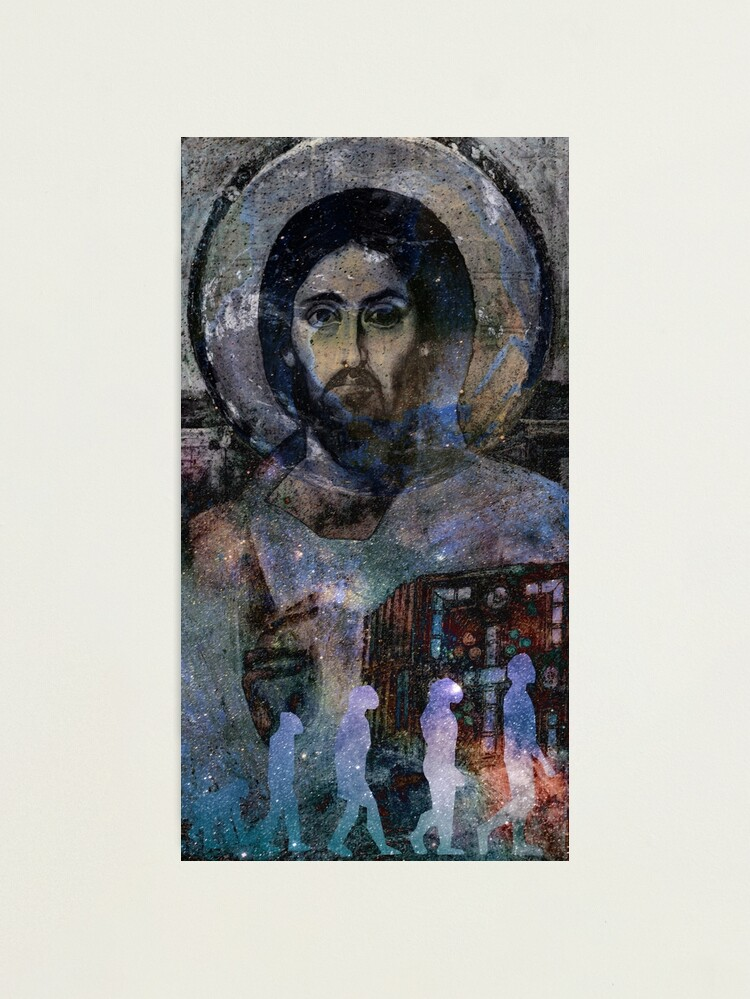 Alternate view of Christ the Evolver  Photographic Print