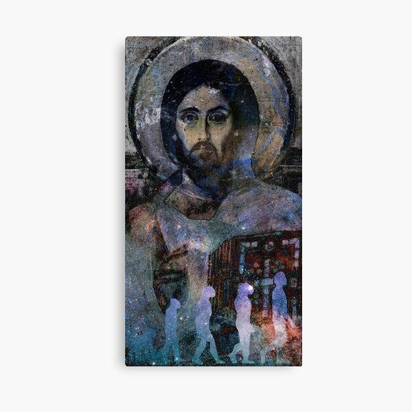 Christ the Evolver  Canvas Print