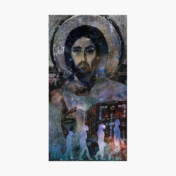 Christ the Evolver  Photographic Print