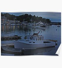 Boothbay Harbor: After Dark Poster