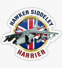 Hawker Siddeley Harrier Sticker