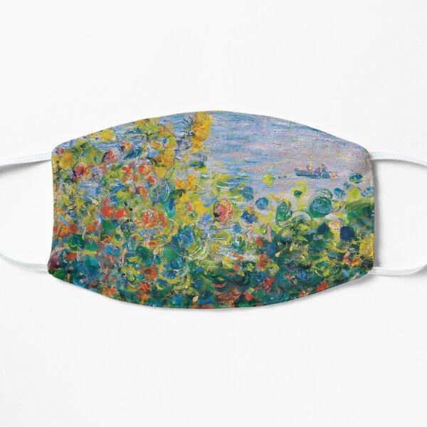 Claude Monet - Flower Beds at Vétheuil Mask