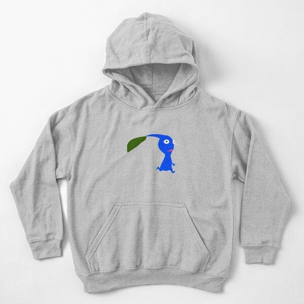 Blue Pikmin Kids Pullover Hoodie
