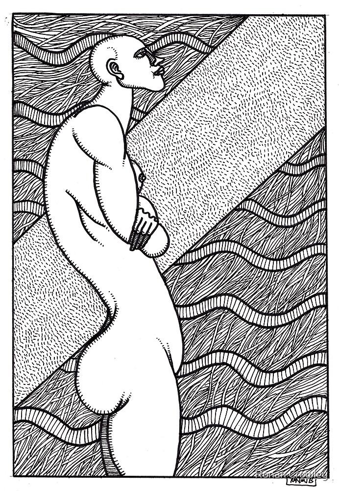 untitled nude by Ronan Crowley