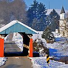 Hopewell Church Covered Bridge, Perry County Ohio by Chad Wilkins