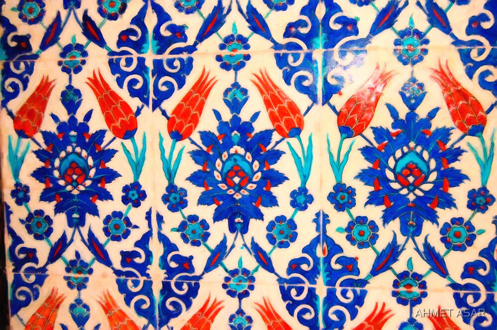 turkish tiles 3 art by MotionAge Media
