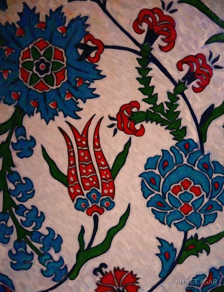 turkish tiles 2 art by MotionAge Media