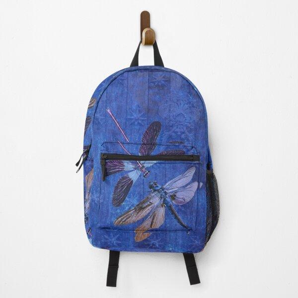 Indigo Dragonflies Backpack