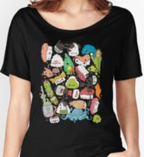 Sushi Bar: The point of Nori-turn Women's Relaxed Fit T-Shirt