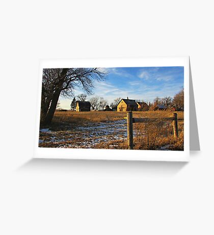 Down on Junior's Farm Greeting Card