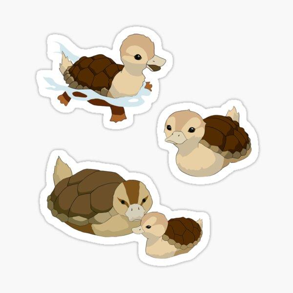 Turtle Duck Set Sticker