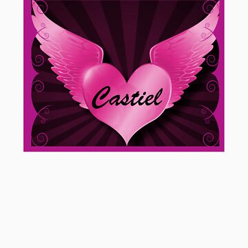 Castiel - Winged Heart (Supernatural) by Enigma2005