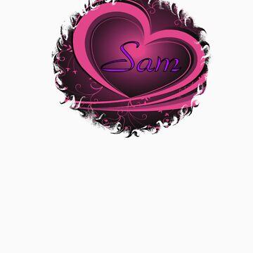 Sam - Ornate Heart Design (Supernatural) by Enigma2005