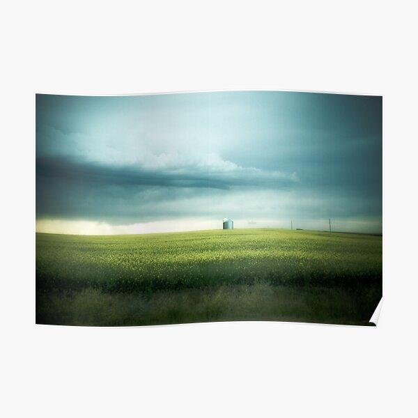 Alberta Prairies Poster