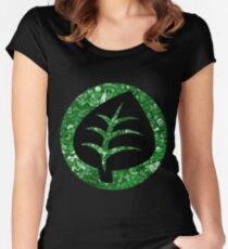 Grass Energy Women's Fitted Scoop T-Shirt
