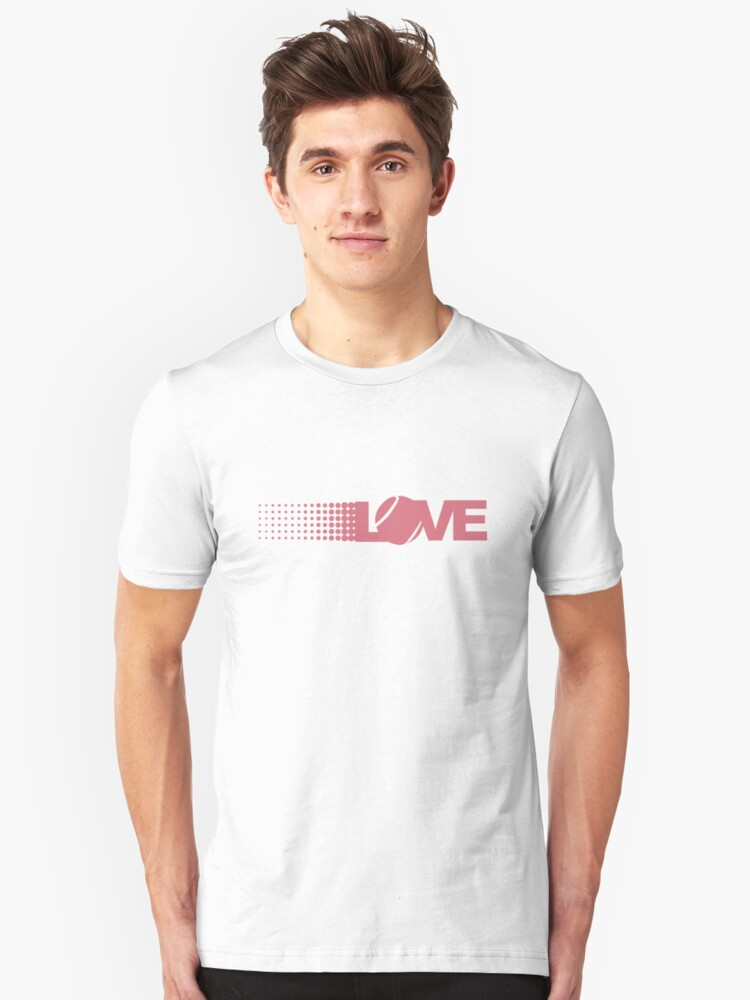 Love Tennis Unisex T-Shirt Front