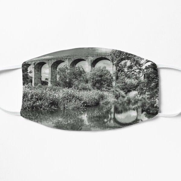 Avon Viaduct Reflections B&W Flat Mask