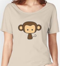 Happy Monkey Women's Relaxed Fit T-Shirt