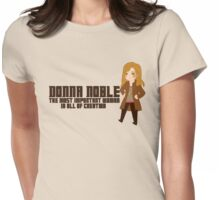 Donna Noble Womens Fitted T-Shirt