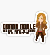 Donna Noble Sticker