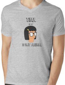 My Spirit Animal Mens V-Neck T-Shirt