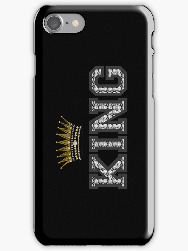 King Crown iPhone / iPod cases design Version 2 by derickyeoh