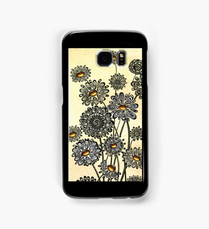 Jeweled Daisies Samsung Galaxy Case/Skin