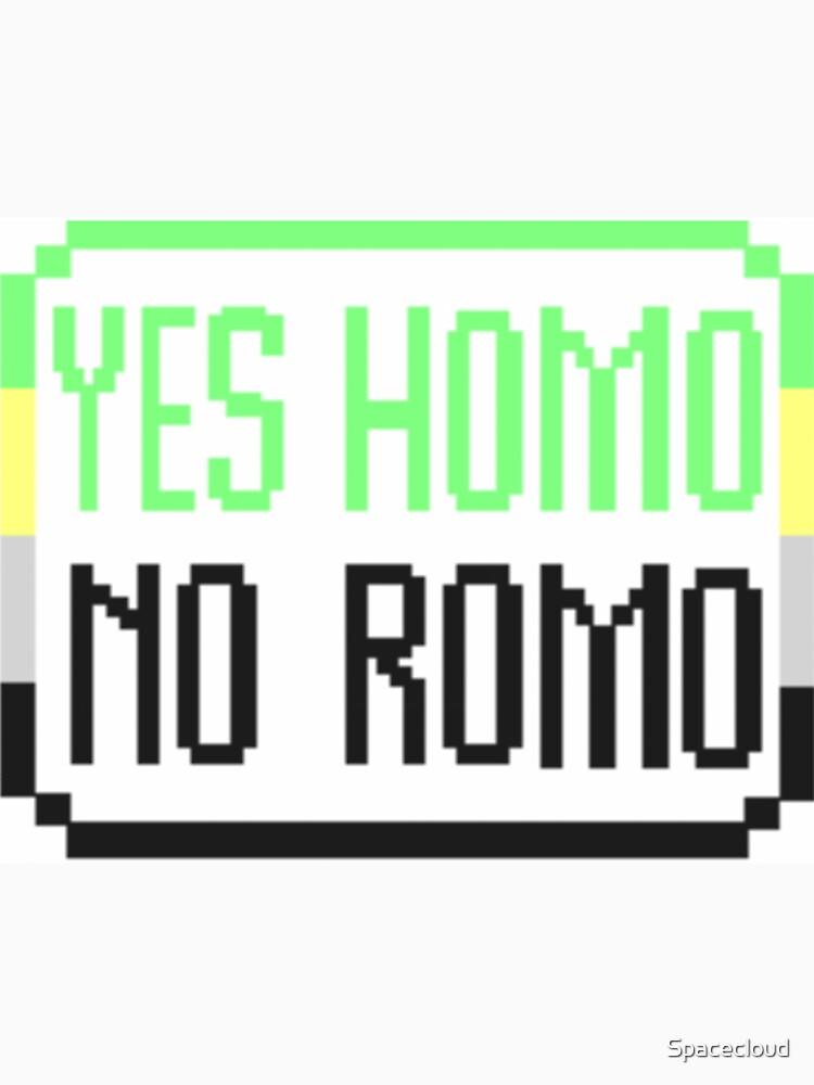 Ja, homo, Nein von Spacecloud