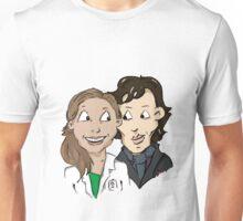 Sherlock Holmes and Molly Hooper Unisex T-Shirt