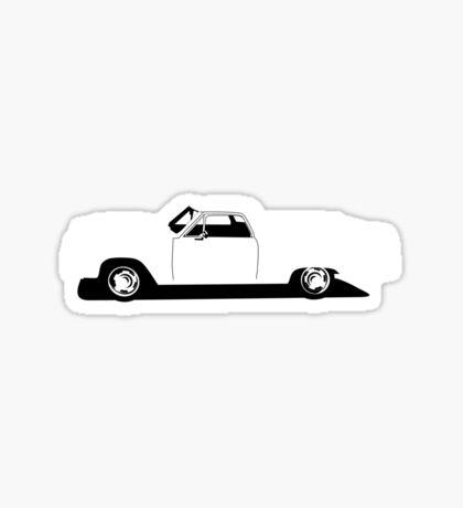 Chevrolet El Camino Sticker