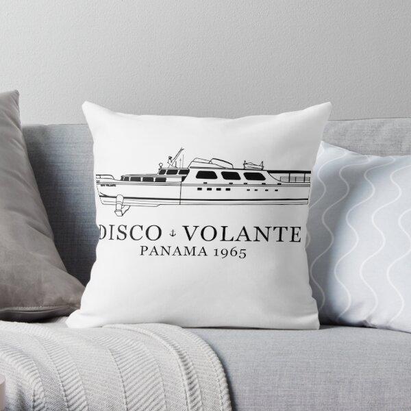 Disco Volante Throw Pillow