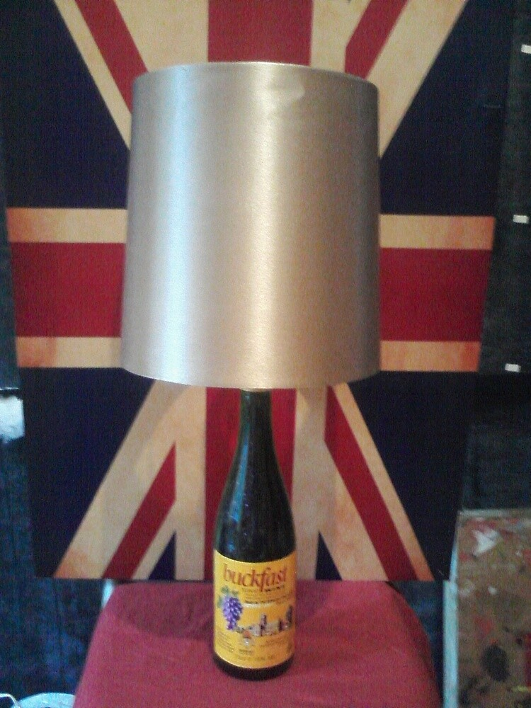 Hand made and authentic Buckfast Table Lamp - £20.00 by hodgyuk
