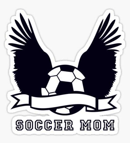 Soccer Mom VRS2 Sticker