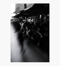 Cafe Life Photographic Print
