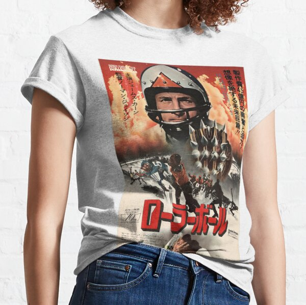 Rollerball 1975 restored Japanese poster Classic T-Shirt